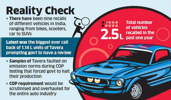 GM's Tavera recall: Govt set to probe manufacturing practices of auto companies
