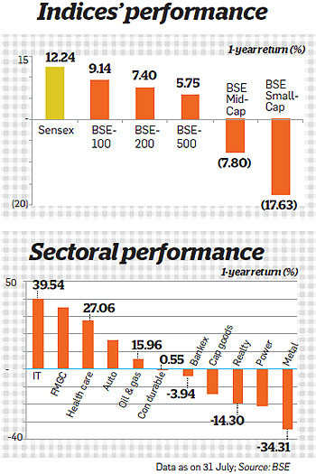 Top stocks from good sectors to bet on in a polarised market