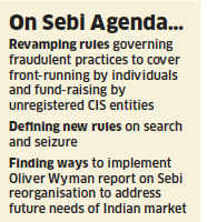 In a major move to curb illegal activities, securities market regulator Sebi is bringing front-running by individuals under the ambit of FUTP regulations.
