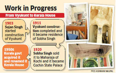 First bungalow in Lutyens Zone 'Kerala House' to regain past glory