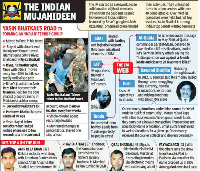 How Yasin Bhatkal managed to slip away every time