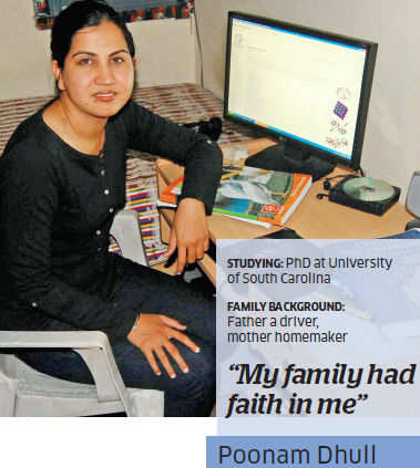 Decisions determine destiny — how true these words are for Poonam Dhull and her family