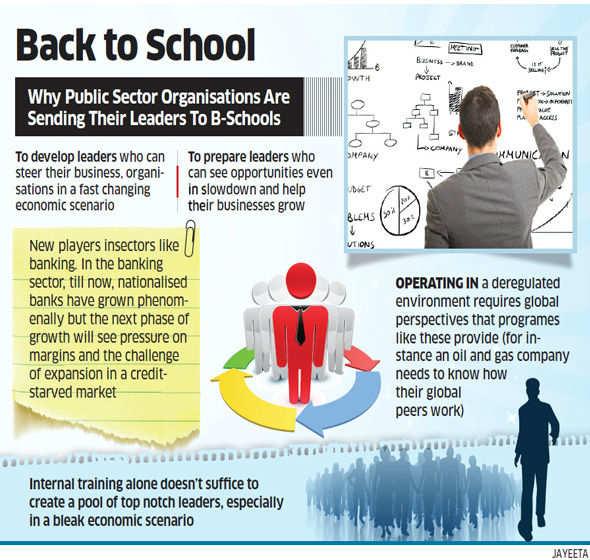 Babus, PSU chiefs learn leadership skills from top b-schools