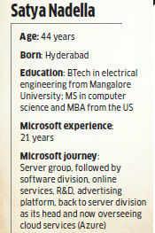 Why Microsoft-Nokia deal may hit Satya Nadella's chances for the top job