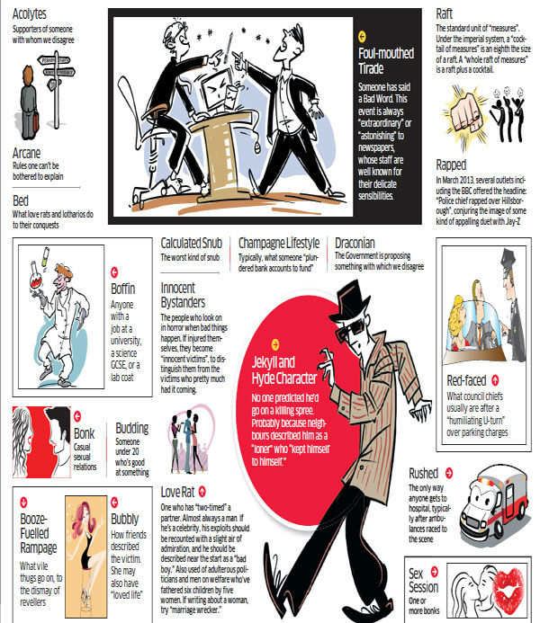 Breaking news: A raft of red-faced clichés - The Economic Times