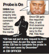 CBI chief Ranjit Sinha pulls up officer who recommended questioning of Manmohan Singh