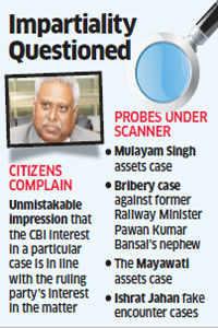 CVC takes note of letter alleging CBI bias in political cases