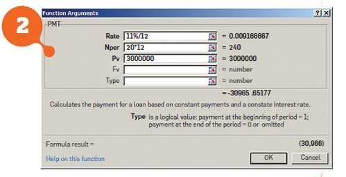 Simplify financial life: Calculate your home loan installments using MS Excel