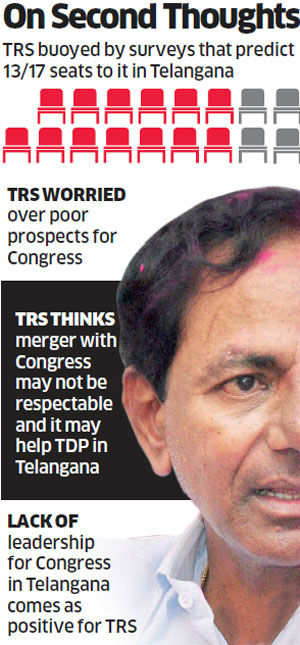 TRS in Rethink Mode on Merger with Congress, may sweep most seats in the region