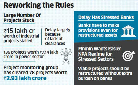Govt is drawing up a plan to provide relief to the stressed infrastructure sector by completely reworking the way in which bad assets are recognised.