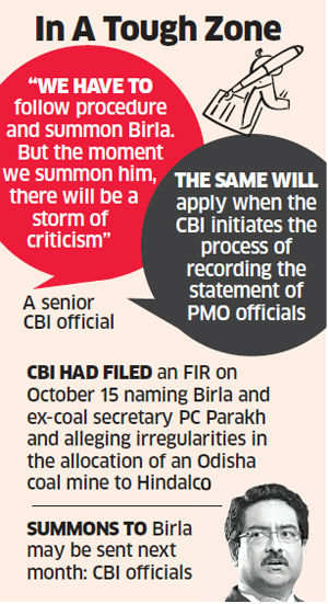 CBI's future actions on Birla-Hindalco case likely to draw 'heavy criticism from all quarters'