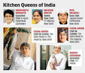 The growing passion is also seeing more women enquire about F&B jobs at hotel chains like Accor, Intercontinental, Marriott, ITC and The Claridges.