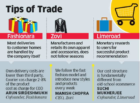 Startups' revenues rise on growth of online shopping across urban India