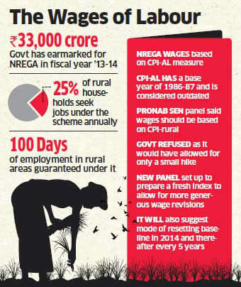 NREGA wages to shoot up ahead of polls; UPA looks to reap rich gains