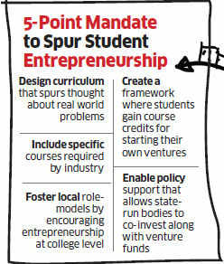 Becoming a startup nation: India must start paying attention to college campuses