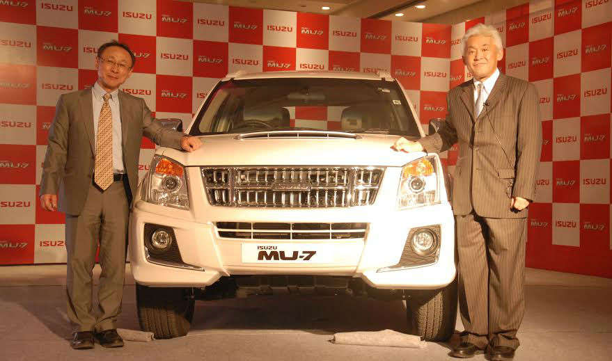 Isuzu Rolls Out First Made In India Suv