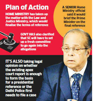 Governtment likely to seek fresh inquiry against AK Ganguly