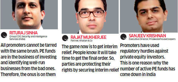 Tough market: Why PE Funds and Indian promoters squabble