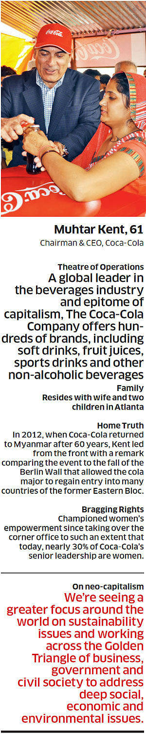 Coca-Cola is not yesterday, Coca-Cola is tomorrow: Muhtar Kent, The Coca-Cola Company