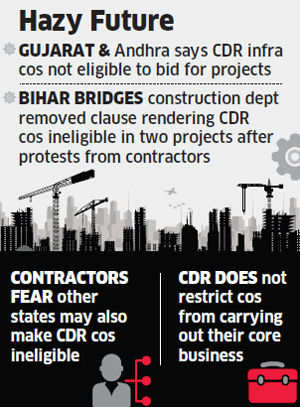 Road to recovery gets bumpier for infrastructure companies