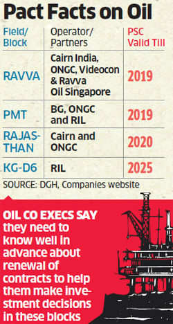 DGH proposes tougher norms for extending oilfield contracts of private firms
