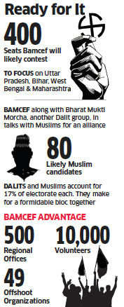 BSP founder Kanshi Ram's Dalit group Bamcef plans to contest 400 Lok Sabha seats