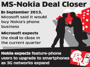Microsoft, which bought Nokia's devices biz, plans to bring down all barriers to smartphone segment; Gionee hopes to become a household brand in 2-3 years.