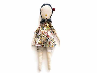 Jess Brown's rag dolls