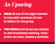 Citigroup plans to hire 2,500 professionals in India this year