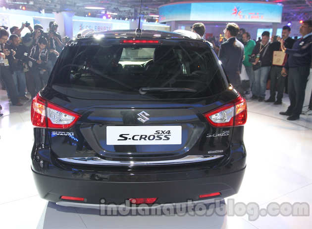 Auto Expo 2014: Maruti SX4 S-Cross unveiled