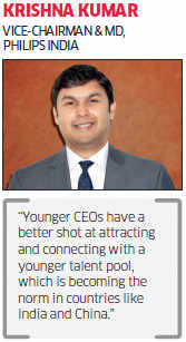 India Inc bets on young leaders to drive growth