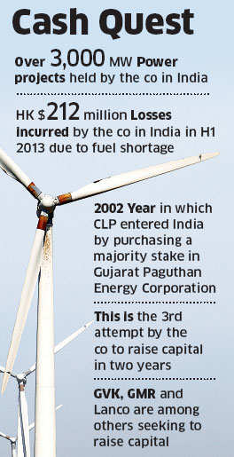 India's biggest wind utility firm, CLP Wind Farms, plans to sell a minority stake to global private equity investors to raise up to Rs 1,200 crore.
