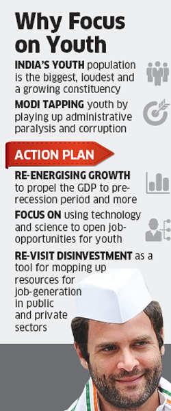 Congress manifesto promises 100 million skilled jobs for youth in next 10 years