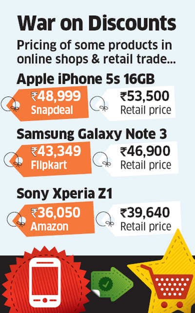 War on discounts: Handset makers like Sony, Apple, Nokia, Samsung fighting online 'price distortions'