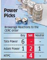 Tata Power 'to gain most' from CERC order; NTPC in shock