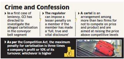 Antitrust regulator CCI may be lenient on cartel whistleblowers