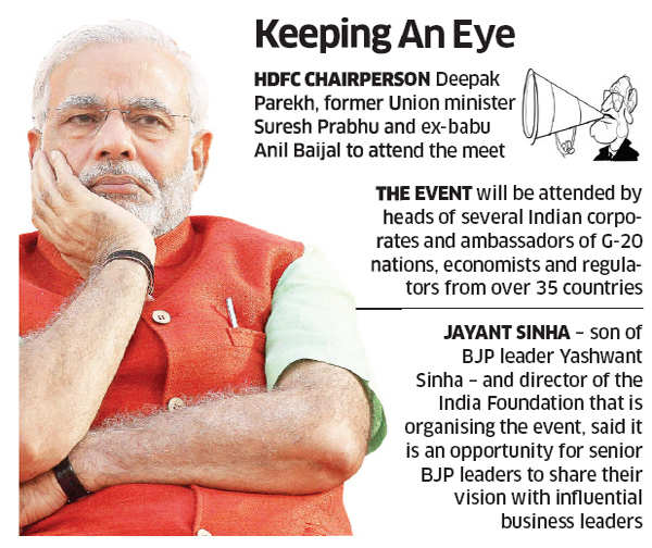 Modinomics: Investors to look for Narendra Modi's economic vision at New Delhi meet
