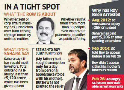 Sahara Chief Subrata Roy lodged in Forest department guest house