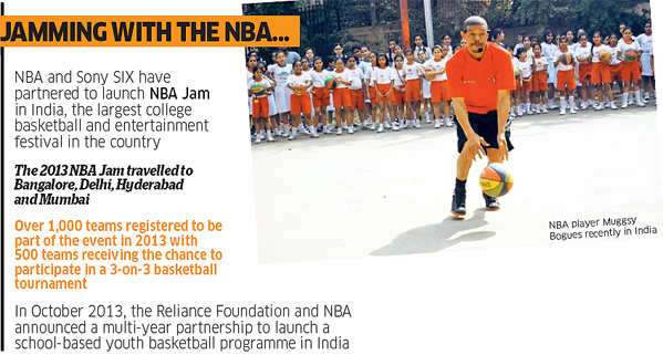 Vivek Ranadive, founder of a Palo Altobased IT co Tibco and 1st Indian to co-own an NBA team, has a vision for basketball that extends to India, China.