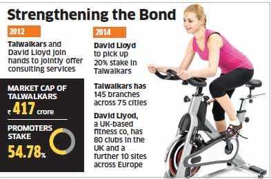David Llyod eyes 20% stake in Talwalkars, chain of health centres