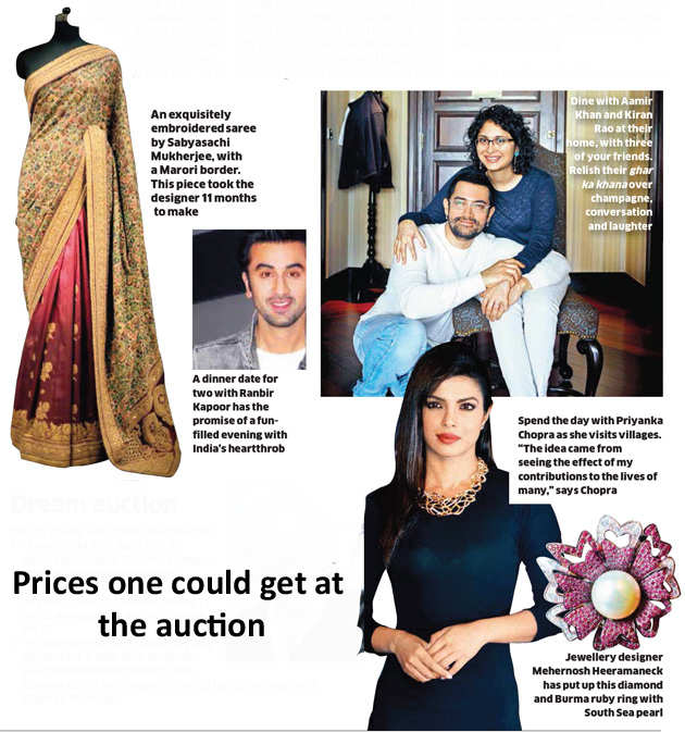 Charity auction for Zarine Screwvala's Swades foundation offers a date with Ranbir