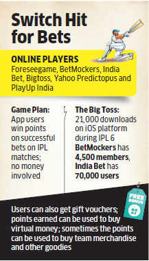 Wanna bet on IPL and yet be safe? Try the apps