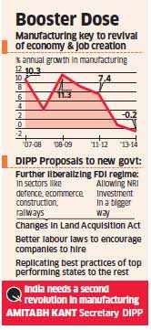 DIPP favours policy rejig to create more jobs and reverse the prolonged slump in the economy