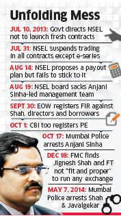 Jignesh Shah, aide Shreekant Javalgekar held in Rs 5,600-crore NSEL scam