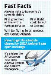 Aviation regulator DGCA grants operating permit to AirAsia India: Official