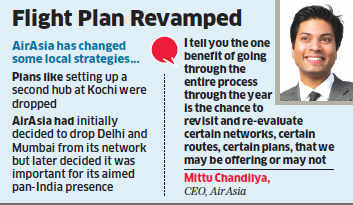 Long wait helped AirAsia rework its plan: Mittu Chandilya
