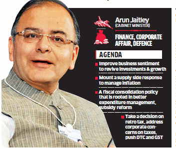 Growth, inflation management key challenges before the new government: Arun Jaitley