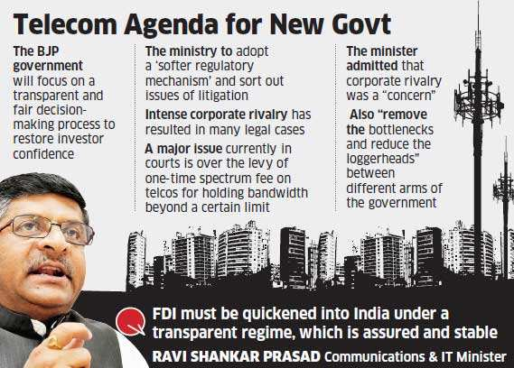 Government to provide stable policies so that investors don't face any uncertainty: Ravi Shankar Prasad