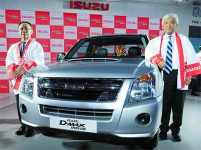 Isuzu Motors Plans to Sell 50,000 Pickup Vehicles in India
