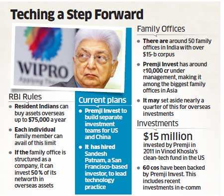 Armed with RBI nod, Azim Premji to invest in tech companies in China, US